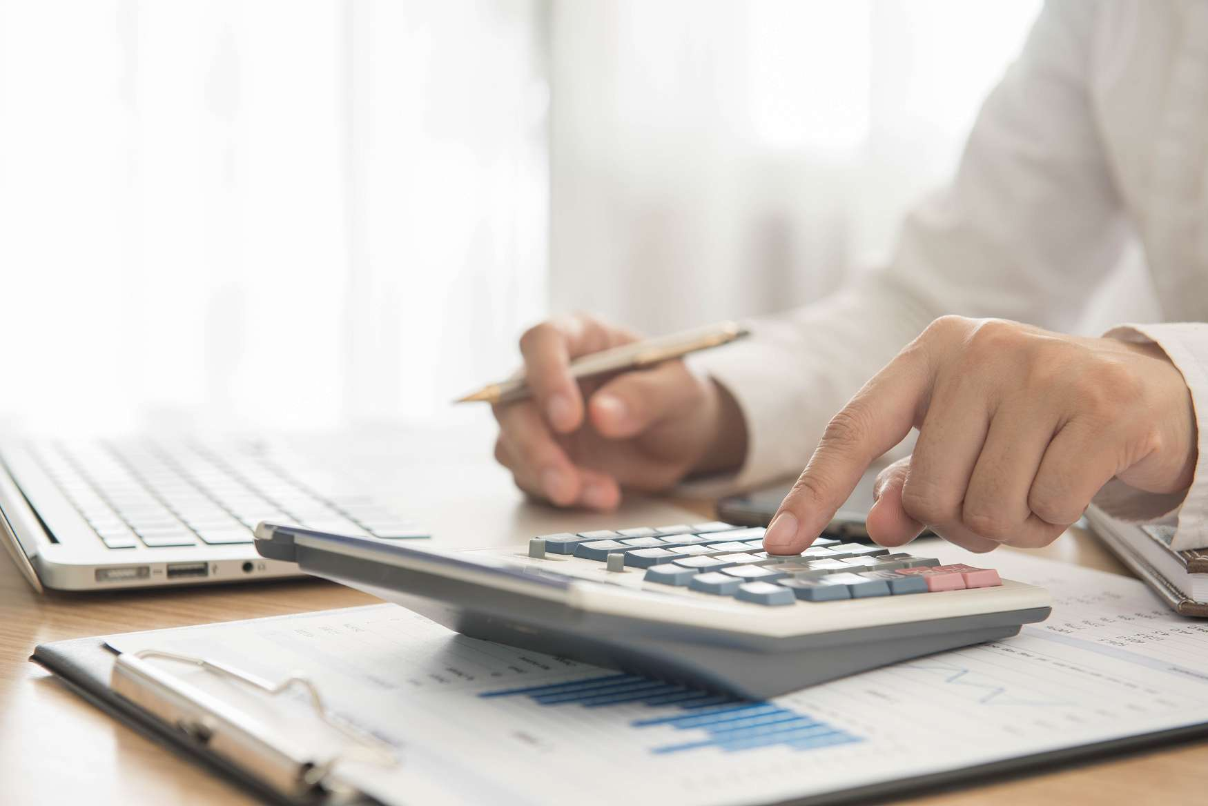 Accountant in Chester and South Shore Nova Scotia at work